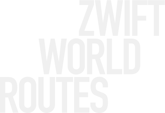 Zwift World Routes